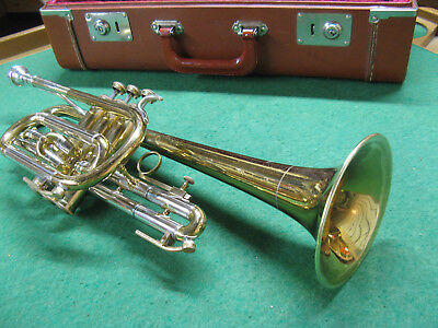 York 75th Anniversary Cornet 1956 - Reconditioned - Nice case Bach 7C Mouthpiece