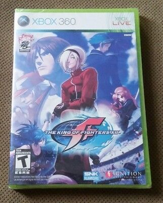 New The King of Fighters XII (Microsoft Xbox 360, 2009) factory sealed game