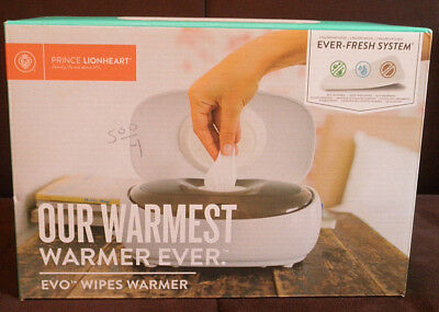 Prince Lionheart EVO Wipes Warmer 9080 New In Box