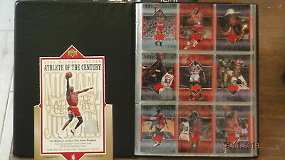 UPPER DECK set 103 cartes michael JORDAN athlete du SIECLE century 1999
