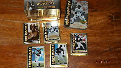 UPPER DECK complet set CARTE METAL card MICHAEL JORDAN sport BASEBALL basketball