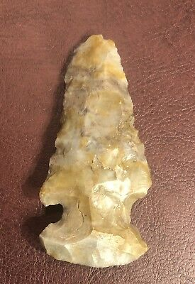 INDIAN Artifacts ARROWHEADS Authentic Archaic Coshocton Thebes OHIO