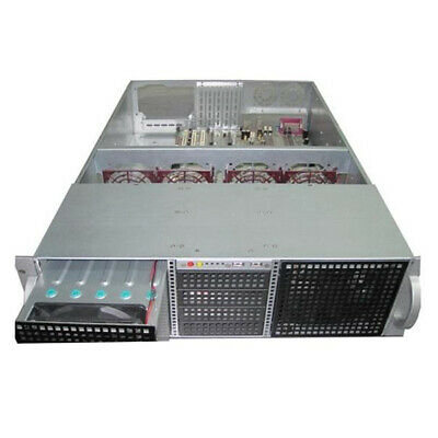 Rack Mountable Server Chassis Case 3U 650mm Depth w/ 14x3.5' HDD ATX PSU Window