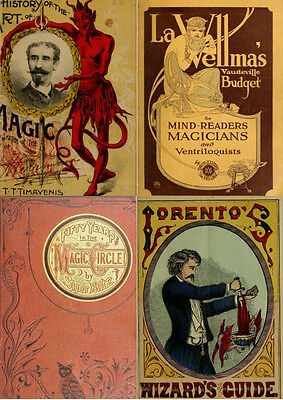 70 Rare,old Antique Books On Magic, Tricks, Illusions & Conjuring History On Dvd