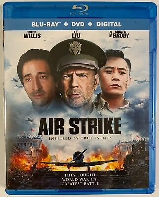 Air Strike Blu Ray 1 Disc Only Free World Wide Shipping Bruce Willis Adrien Brod