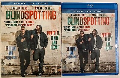 Blindspotting Blu Ray Dvd 2 Disc Set + Slipcover Sleeve Free World Wide Shipping