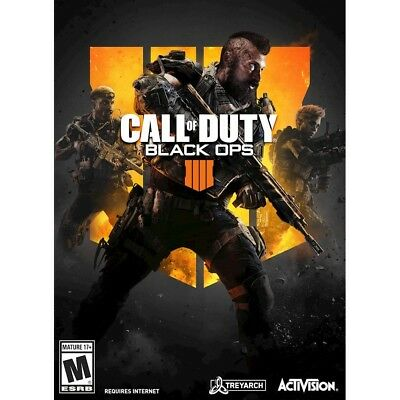 Brand New Call of Duty: Black Ops 4 for Windows (Digital Code)