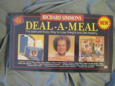 Deal A Meal Richard Simmons 1994 Edition Weight Loss Program Kit