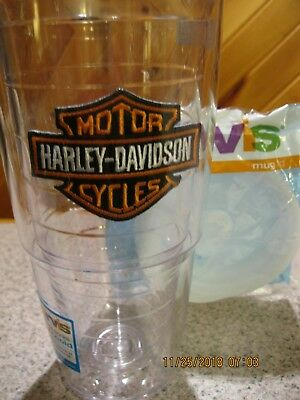 Harley Davidson - Tervis Tumbler 24 Oz. With Lid - Brand New - Free Shipping