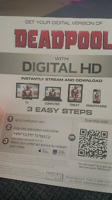 Deadpool Digital Copy from 4k Release