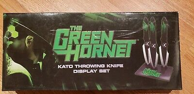 The Green Hornet Kato's Throwing Knife Display Set with Authenticity