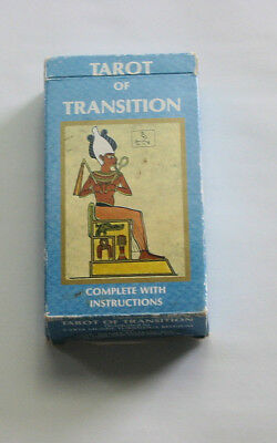 VINTAGE Tarot of Transition Deck 1983 US Games Systems OOP