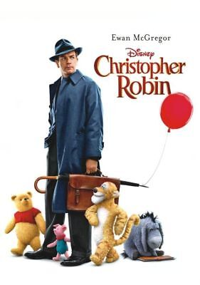 Christopher Robin (New,2018,dvd,release) Family,fun,for Everyone,free Shipping..