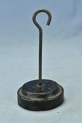 Antique CAST IRON PLATFORMSCALE WEIGHT HANGER ONLY MERCANTILE FACTORIES #06484