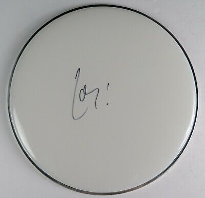 """Chad Smith RED HOT CHILI PEPPERS RHCP Signed Autograph 12"""" Drum Head Drumhead"""