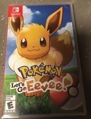 Pokémon: Let's Go, Eevee! (Nintendo Switch, 2018) NEW & SEALED