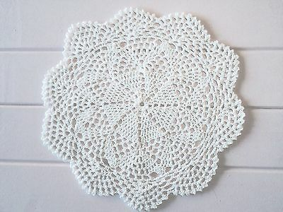 28 Cm New White Crochet Lace Doily