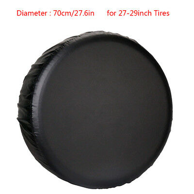 Spare Wheel Tire Tyre Cover For RV Trailer Camper Car Truck For 27-29in Diameter