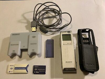 Memory Stick Duo SONY 32MB SANDISK 128MB USB Card Reader MS515 Recorder - LOT