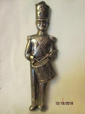 Vintage Gorham Sterling Silver Toy Soldier Christmas Ornament 1980