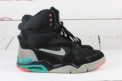 NIKE AIR COMMAND Force Spurs 684715 001 Black Wolf Grey Men