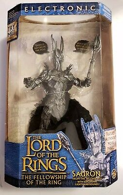 Lord Of The Rings Electronic SAURON 10' Figure Toy Biz 2002 **SEE DESCRIPTION**