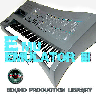 EMULATOR III - Large unique WAVE Multi-Layer Samples Library 6.5GB on 2 DVD