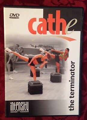Cathe Friedrich THE TERMINATOR Cardio Fitness DVD 3 Workouts Intensity Series