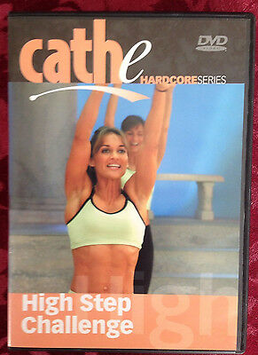 Cathe Friedrich HIGH STEP CHALLENGE Advanced Cardio Fitness DVD Hardcore Series