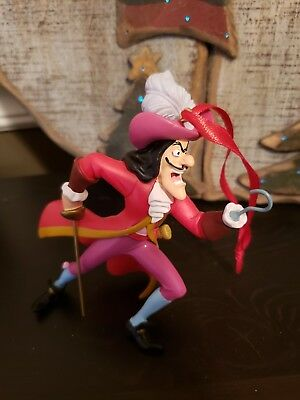 New Disney Peter Pan Captain Hook Christmas Ornament