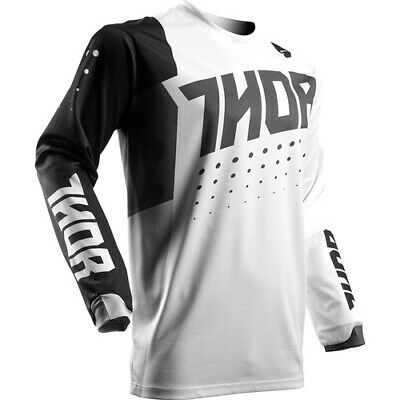 Thor Pulse Aktiv S17 Youth Jersey White/Black Thor