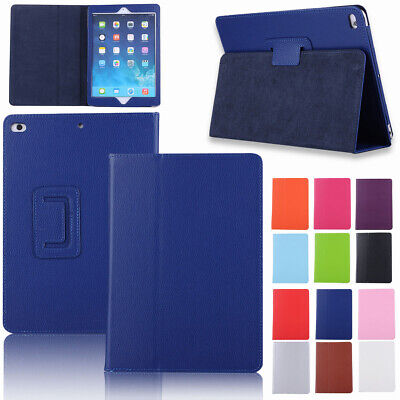 "For Apple New iPad 6th & 5th Generation 9.7"" 2018 2017 Leather Smart Case Cover"