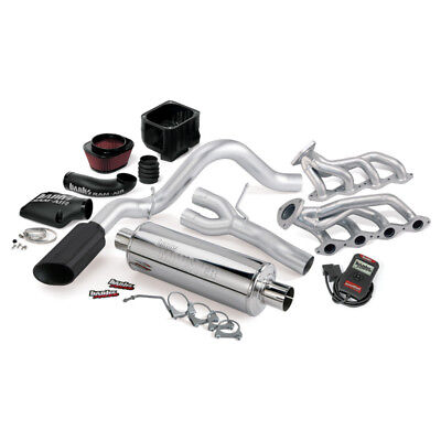 Banks Power 02-06 Chevy 4.8-5.3L 1500-SCSB PowerPack System - SS Single Exhaust