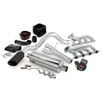 Banks Power 02 Chevy 4.8-5.3L 1500-ECSB PowerPack System - SS Single Exhaust w/