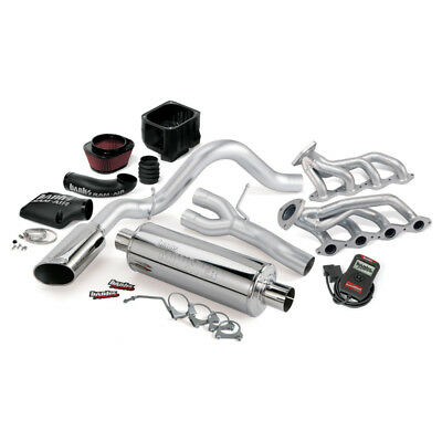Banks Power 03-06 Chevy 4.8-5.3L EC/CCSB PowerPack System - SS Single Exhaust w/