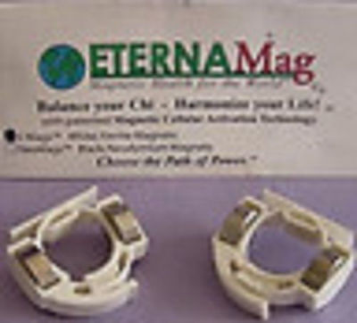 ALEX CHIU IMMORTALITY MAGNETIC Healing FINGER RINGS 3 PAIRS-US Authorized Seller