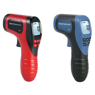Laser Tachometer Non-Contact Digital Display Tachometer RPM Tester Speed Meter