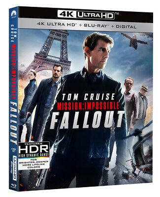 Mission: Impossible - Fallout (4KUHD+Blu-ray+Digital) Includes Book