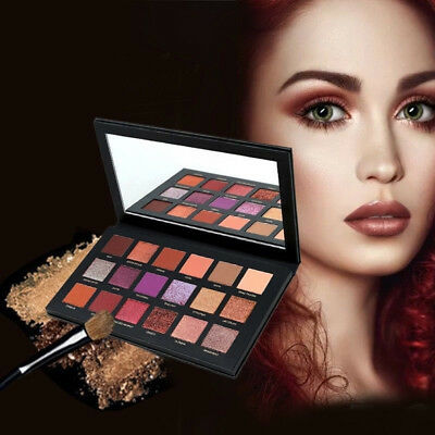 2018 New HUDA BEAUTY Desert Dusk Eye Shadows Palette Eye Shadows 18 Colors NM7