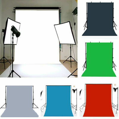 AU Solid Color Photography Backdrop Studio Wall Vinyl Photo Background Props Hot
