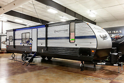 New 2019 294RR Limited Lite Slide Out Toy Hauler Travel Trailer For Sale Cheap