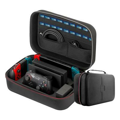 For Nintendo Switch Portable Hard Shell Suitcase Storage Large Carrying Bag