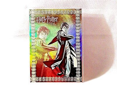 Harry Potter GOF -  Prismatic FOIL Chase Puzzle Card - R2 - NEW