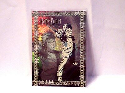 Harry Potter GOF -  Prismatic FOIL Chase Puzzle Card - R6 - NEW