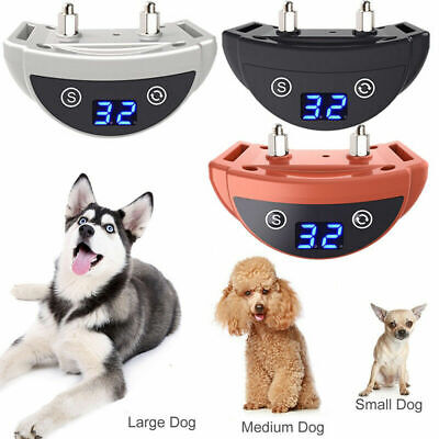 Anti Bark Dog Stop Barking Training Collar Automatic Rechargeable Pet Trainer AU