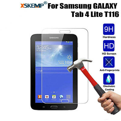 For Samsung Galaxy Tab 4 Lite 7.0 SM-T116 Tablet Tempered Glass Screen Protector