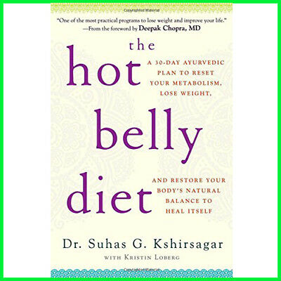 The Hot Belly Diet: A 30-Day Plan to Reset Your Metabolism (E-book) {PDF}