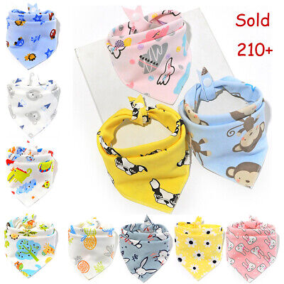 1PCS Baby Infant Boy Girl Bandana Bib Feeding Saliva Towel Dribble Triangle Bib