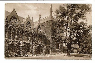 CPA-Carte postale-Royaume Uni - Oxford-Exeter college-S4171