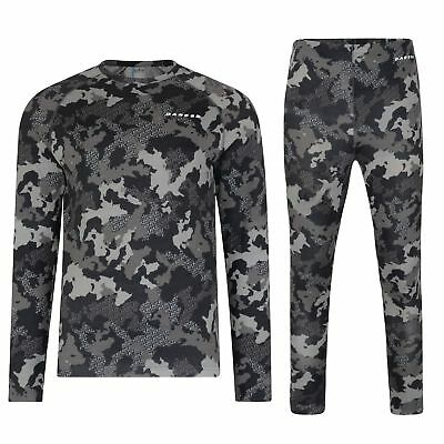 Dare2b Division Mens Base Layer Set Thermals Top and bottoms